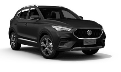 Mg Zs - Available In Black Pearl