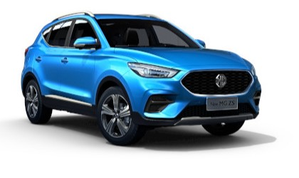 Mg Zs - Available In Laser Blue