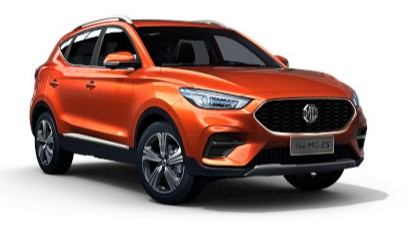 Mg Zs - Available In Spiced Orange